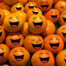 playwithyourfood oranges fruit happy interesting