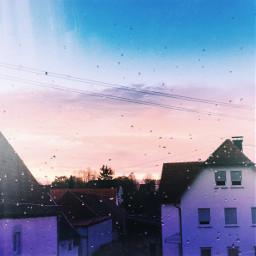 niceview rain sun sky blue