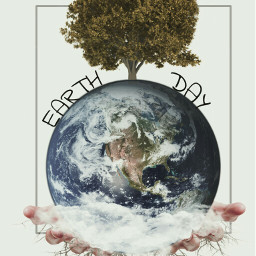 earthday edited wapearthinhands madewithpicsart colors