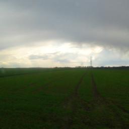 horizon sky spring sun niebo