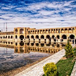 iran isfahan travel hdr photography