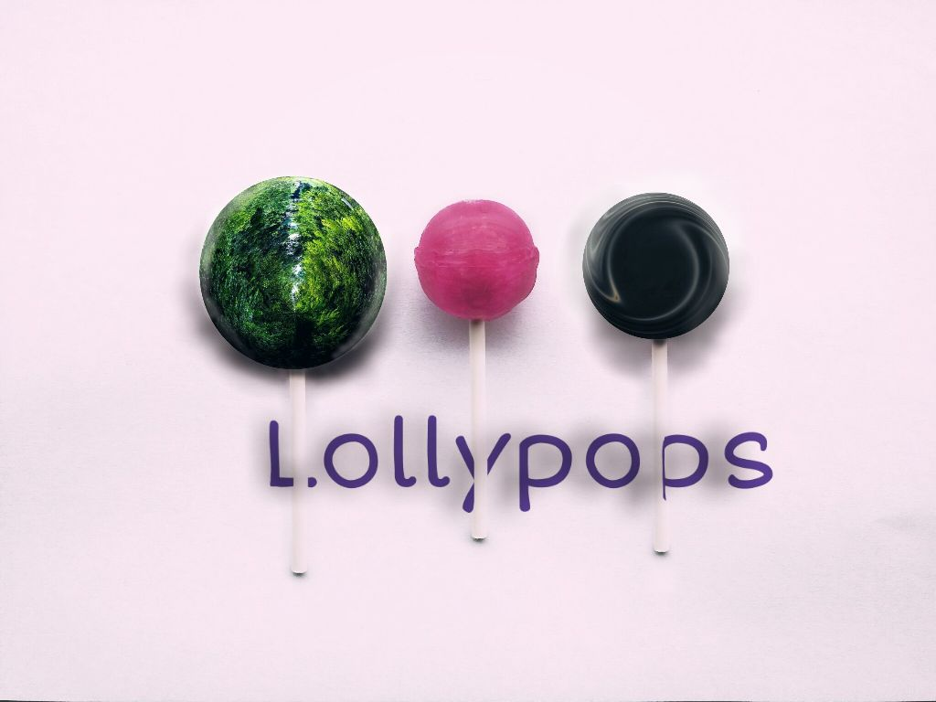 i heard you  you guys love Lollypops :) #clone #minimal #green #trees #sea #water #black #pink #green #colors #text  pic @orgnlwhtsvn :)