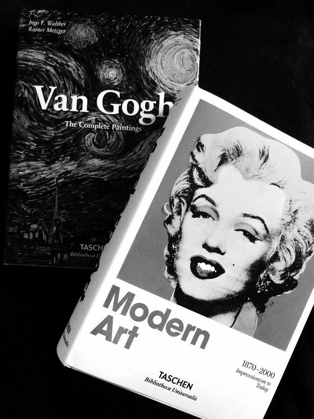 #taschen #vangogh #modernart #art #photography #blackandwhite #minimalism